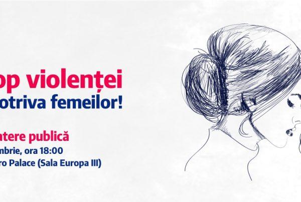 Stop violentei impotriva femeilor