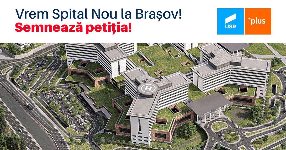 Vrem spital nou la Brasov. Semneaza petitia!